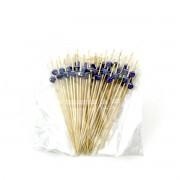KOMATI ESPETO BAMBU 12cm BLUE 50un