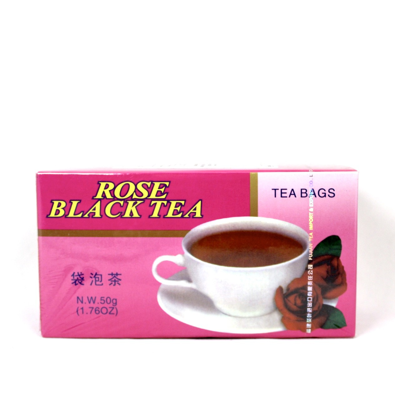FUJIAN BLACK TEA & ROSE 2g X 25 BAGS 50G BT903
