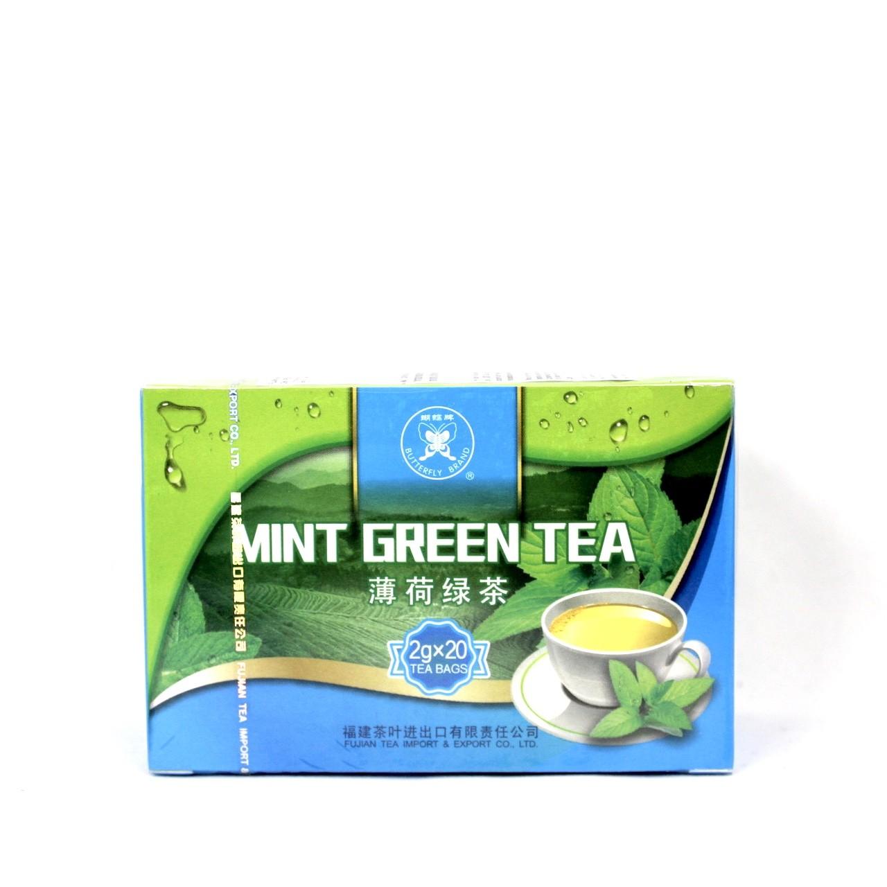 FUJIAN GREEN TEA & MINT 2g X 20 BAGS 40G GT905