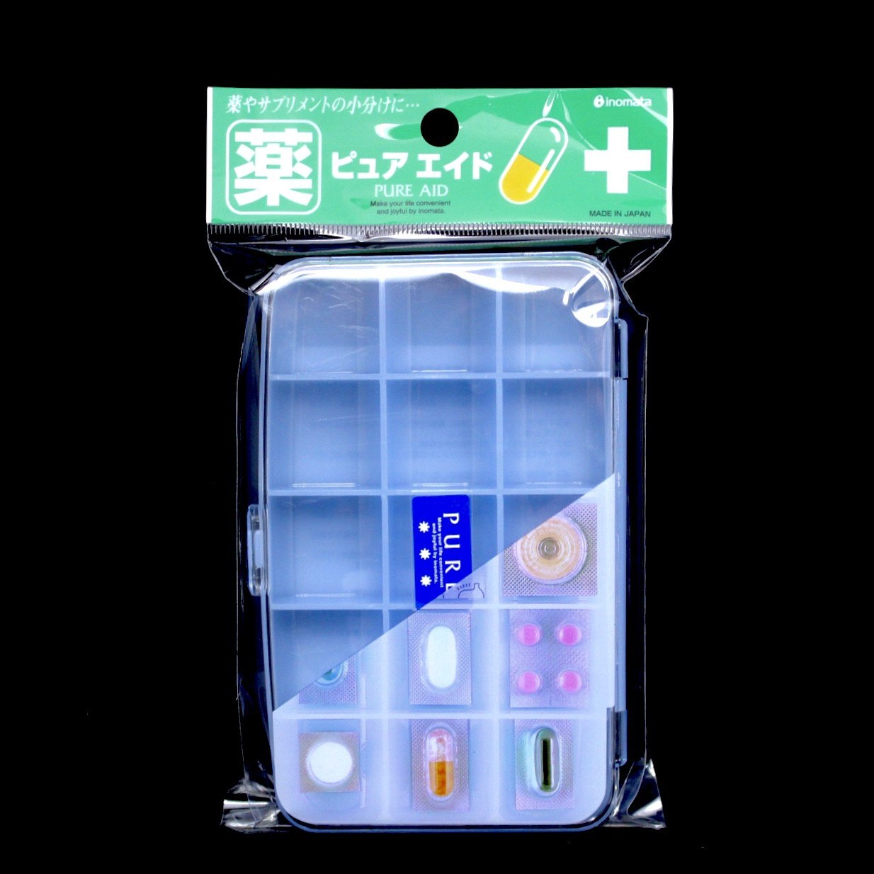 INOMATA PILL CASE N.4100 BLUE