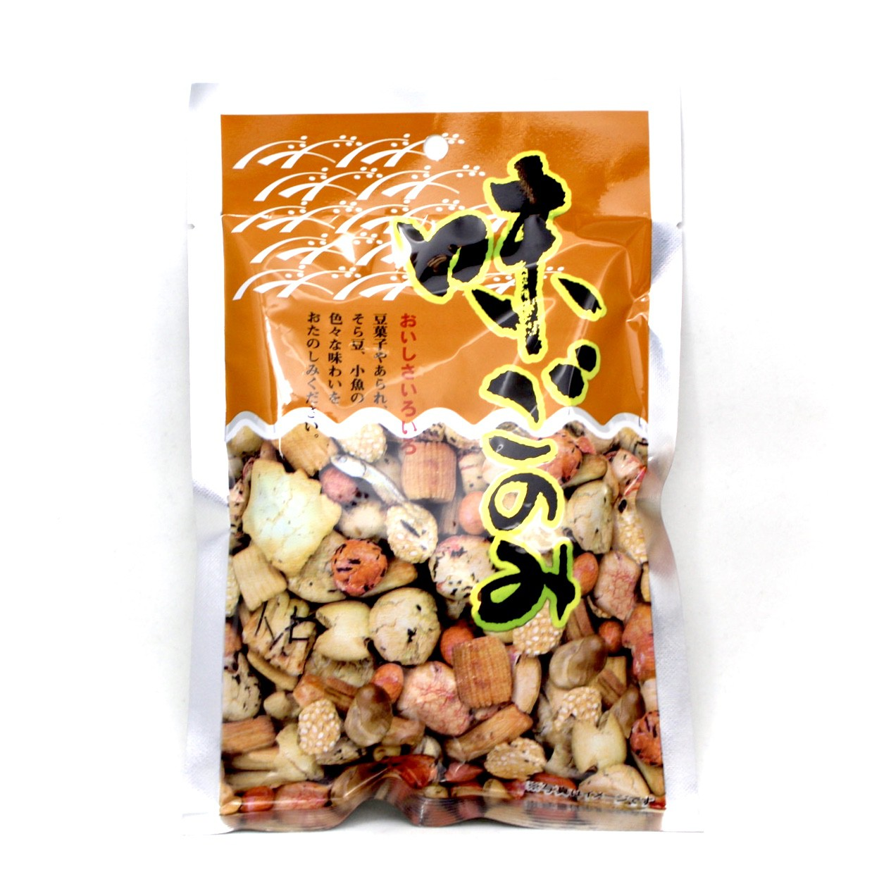 POPPO AJIGONOMI MIXED CRACKER 80g