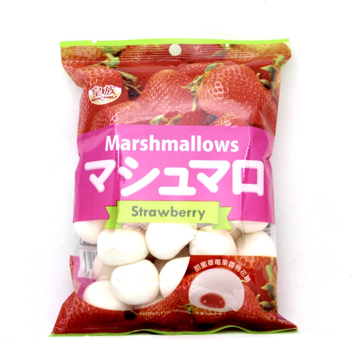 ROYAL MARSHMELLOW STRAWBERRY 100g