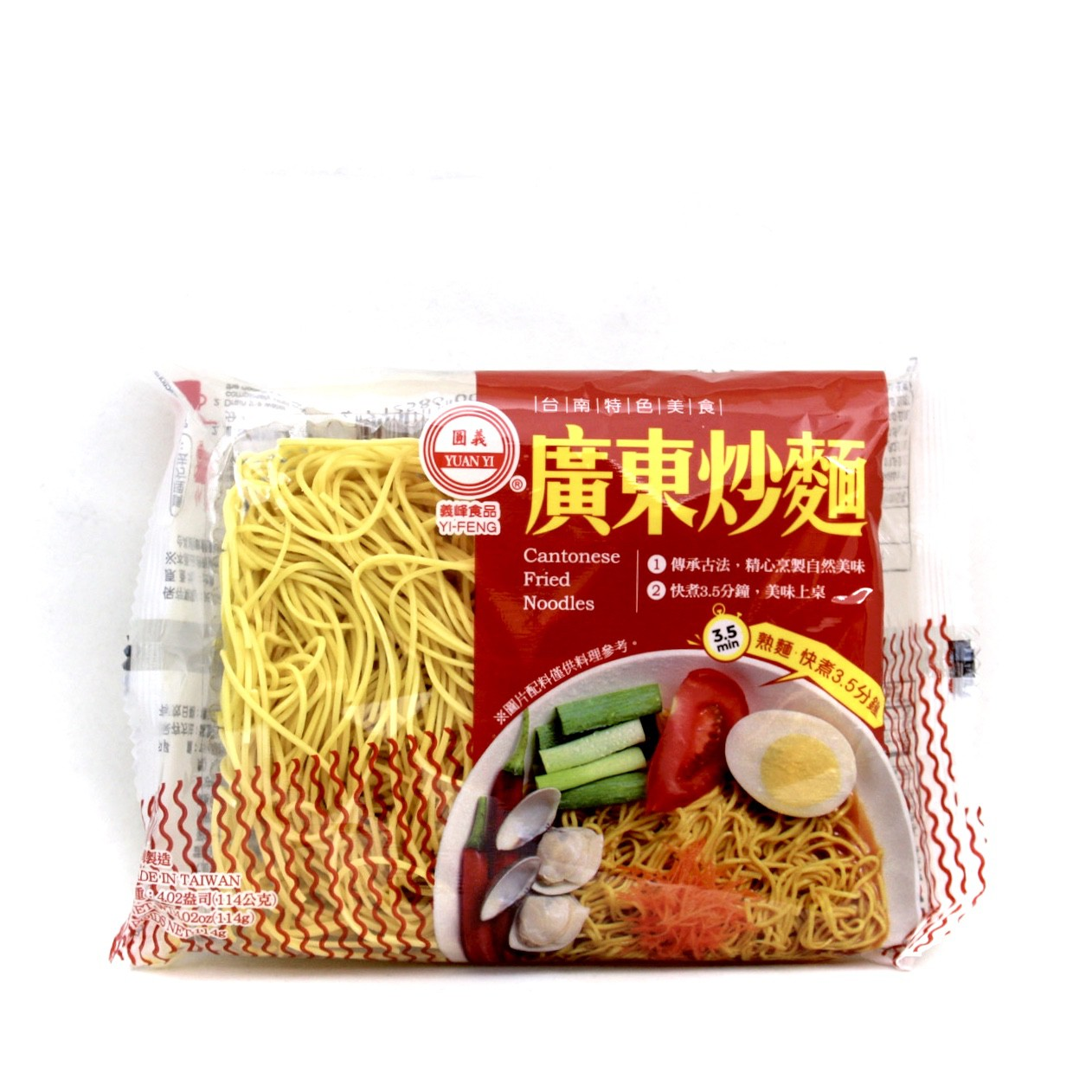 YI FENG CANTONESE FRIED NOODLE 114g