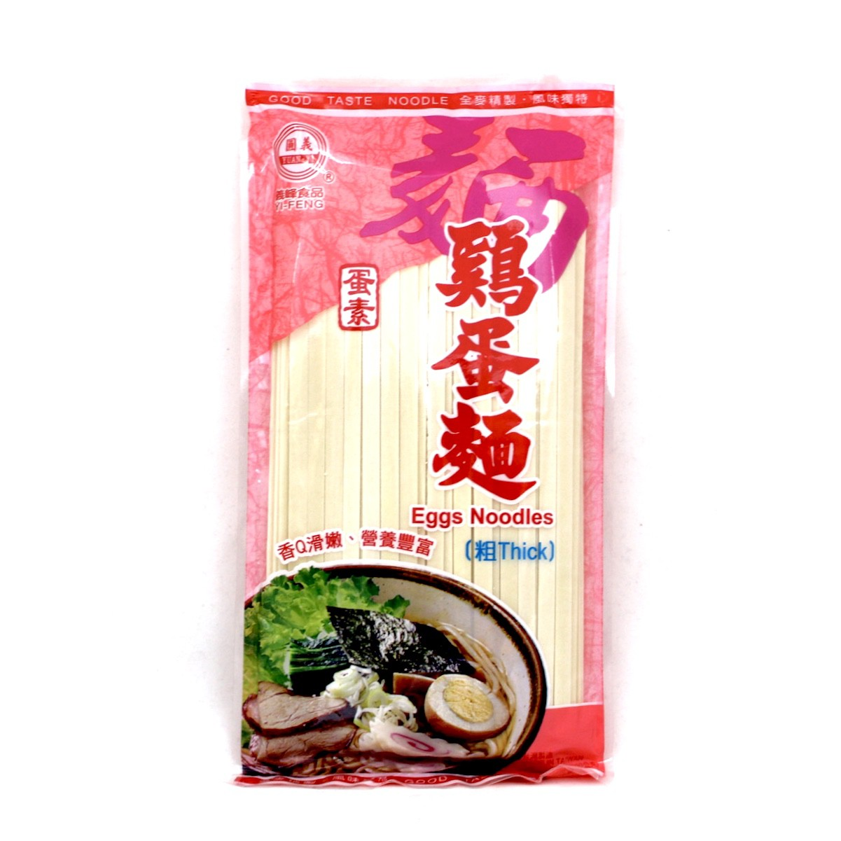 YI FENG EGGS NOODLE 300g (THICK)