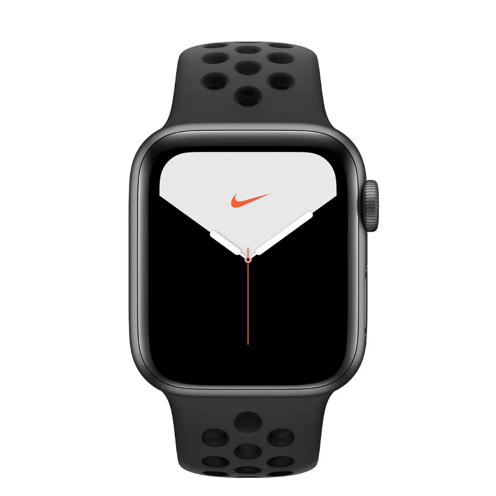 Apple Watch Nike Series 5 Gps, 44mm Space Grey Aluminium Case With Anthraciteblack Nike Sport Band