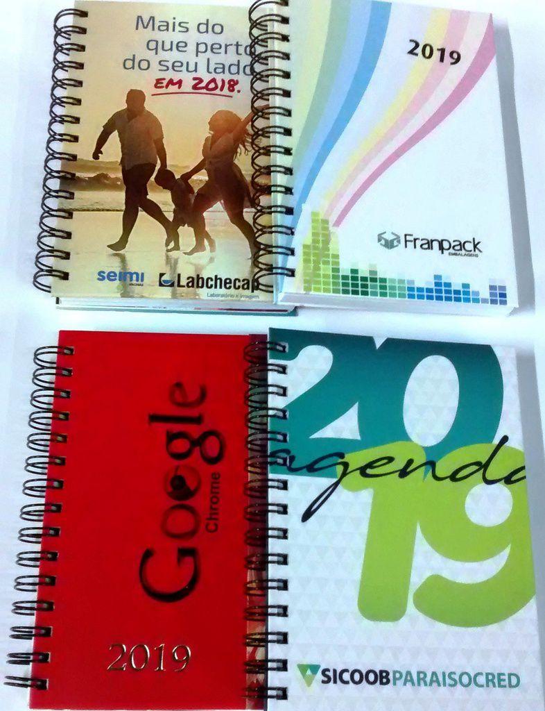 Agenda Personalizada 2021 Corporativa Para Empresas Com Logotipo