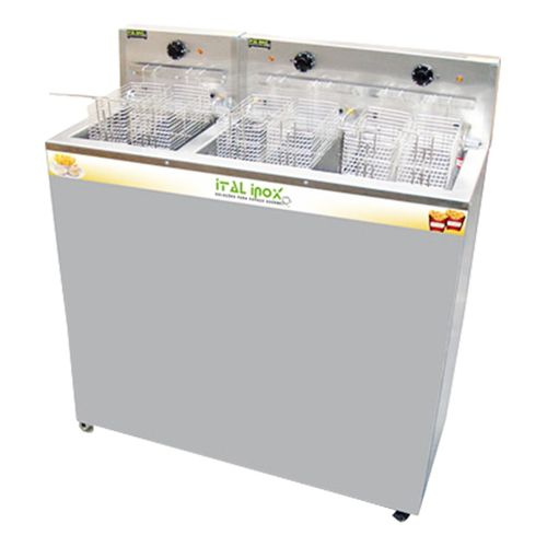 Fritador Elétrico Água e Óleo Ital Inox FAOI-36/18
