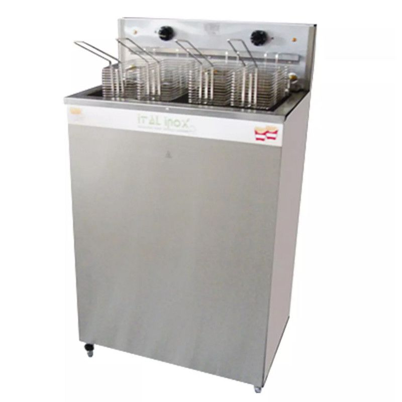 Fritador Elétrico Água e Óleo Ital Inox FAOI-36 (Gabinete)