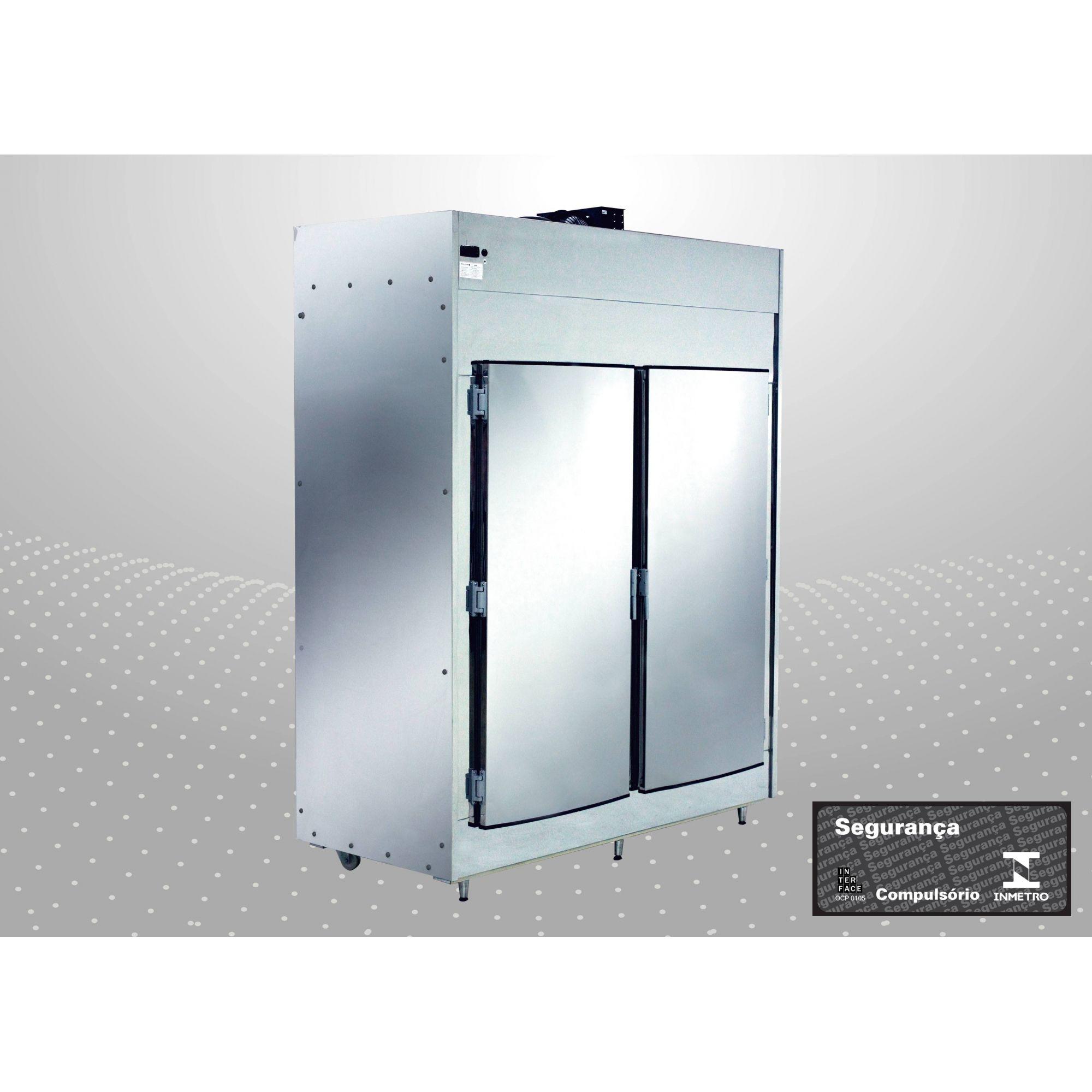 Geladeira câmera fria,Refrigerador açougue  600 Kg 2 postas polo Frio