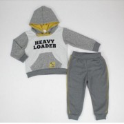 Conjunto Moletom Have Fun  estampado Heavy Loader com capuz