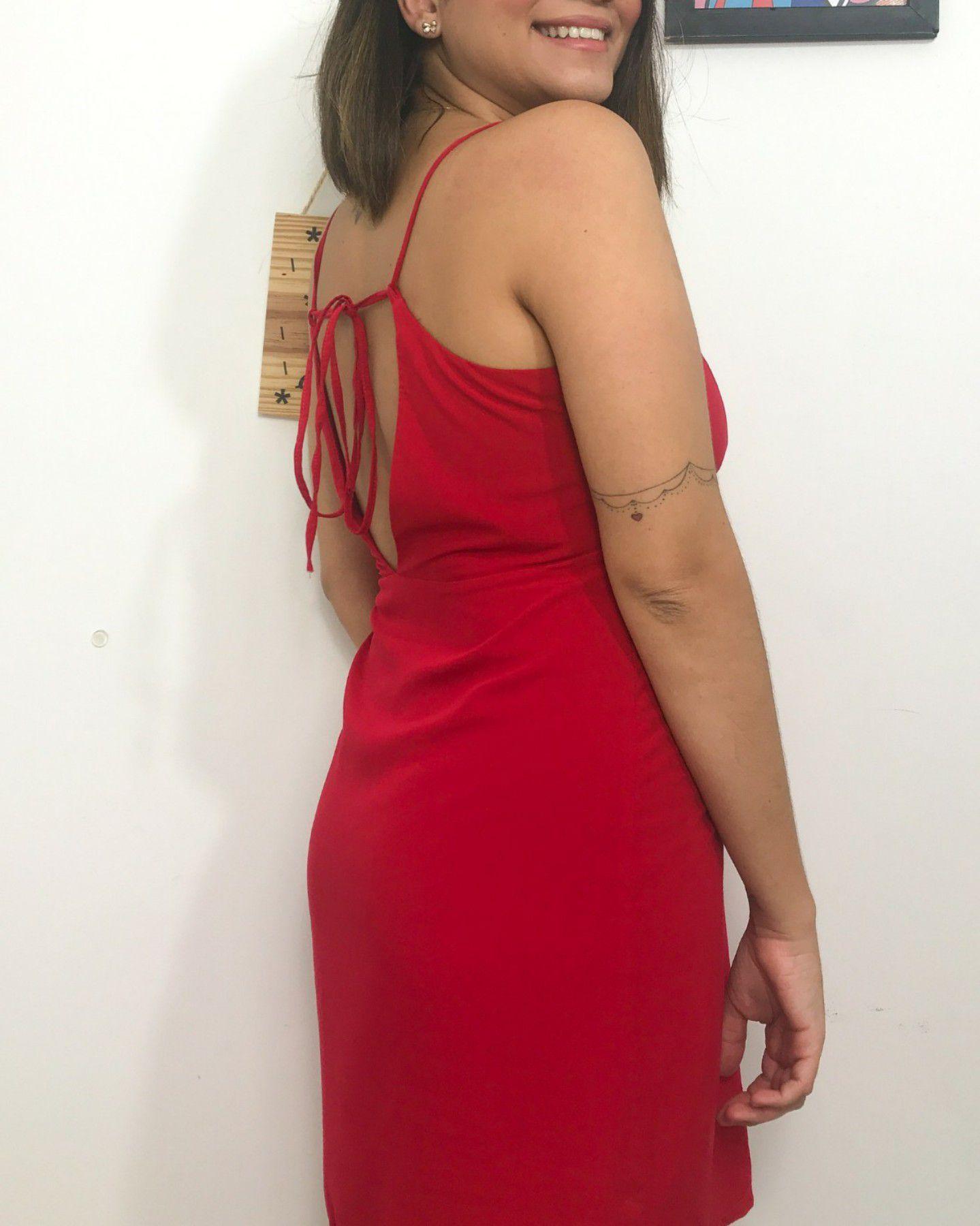 Vestido Julia vermelho