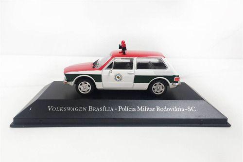 Miniatura Brasilia Policia SC-veículos De Serviço-1/43-10080