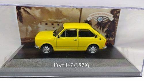 Miniatura Fiat 147 1979 - escala 1/43 - Deagostini - 9569