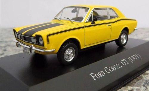 Miniatura Ford Corcel Gt 1971-1/43-deagostini- 9652