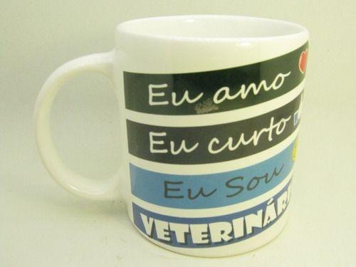 Caneca De Ceramica Veterinário - 300ml - 7978