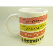 Caneca De Ceramica Engenheira - 300ml - 8007