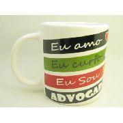 Caneca De Ceramica Advogada - 300ml - 7975