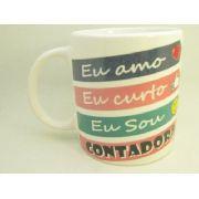 Caneca De Ceramica Contadora - 300ml - 7976