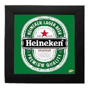 Quadro Decorativo Com Azulejo Heineker - 5086