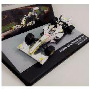 Miniatura F1 Brawn Gp Mercedes Barrichello Esc.1/43- 10653