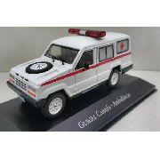 Miniatura Gurgel Carajás Ambulancia-veíc Serviço-1/43- 10537
