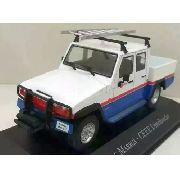 Miniatura Agrale Marruá Cd Ceee-veículo Serviço-1/43 10532