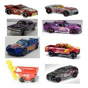 Kit 8 Miniaturas Hot Wheels - lacrada Blister - escala 1/64 - kit1 - 7878