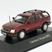 Miniatura Chevrolet Blazer 2002 - Deagostini - escala 1/43 - 10715