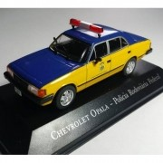 Miniatura GM Opala 1988 Policia Rodoviária Federal PRF - VEJA DESCRIÇÃO - escala 1/43 - 10089_8