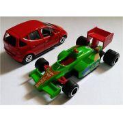 Miniatura Kit 1 Mercedes Class A e 1 Carro F1 - Majorette - escala 1/64 - 9409
