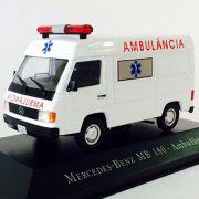 Miniatura Mercedes MB 180 Ambulancia - veículo de Serviço - escala 1/43 - 10688