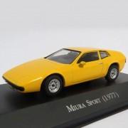 Miniatura Miura Sport 1977 - escala 1/43 - Deagostini - 9590