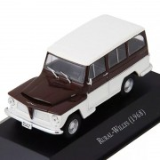 Miniatura Rural Willys 1968-1/43-deagostin-fora Blister 9564