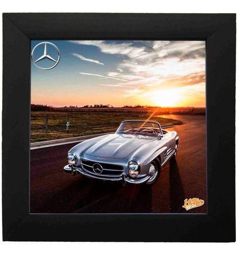 Quadro Decorativo Com Azulejo Mercedes 300SL - 5117