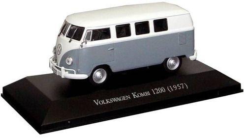 Miniatura Vw Kombi 1200 1957-esc1/43-deagostini-9530