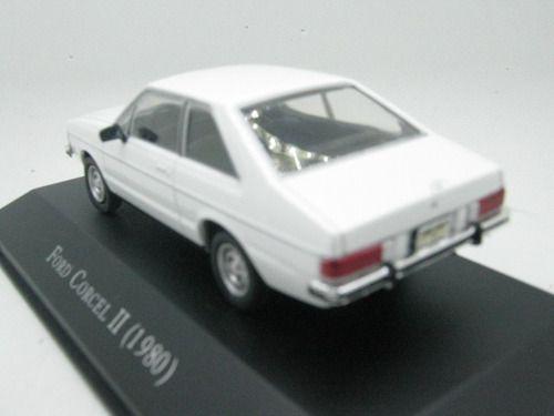 Miniatura Ford Corcel Ii 1980-esc1/43-deagostini-9649