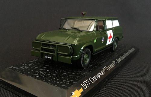 Miniatura Veraneio Exército-viatura De Serviço-1/43 10368