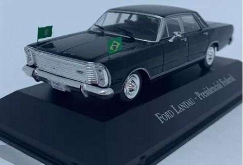 Miniatura Ford Landau Presidencial-veíc.serviço-1/43 10541