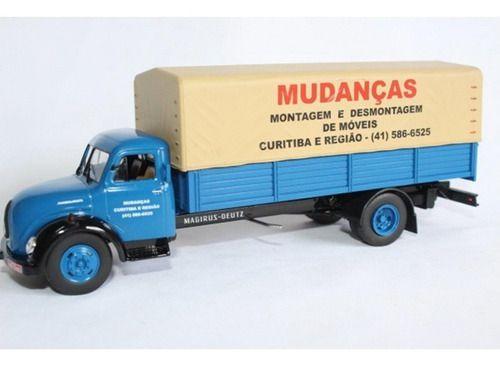 Miniatura Caminhão Magirus Merkur-deagostini-1/43- 10555