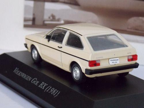 Miniatura Gol BX 1981- escala 1/43