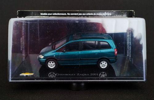 Miniatura Chevrolet Zafira 2001-escala 1/43-salvat- 10370
