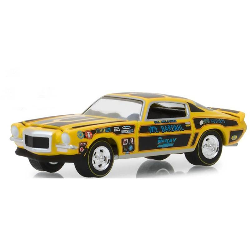 Miniatura 1970 Camaro Mr. Bardahl - Greenlight - escala 1/64 - 10433