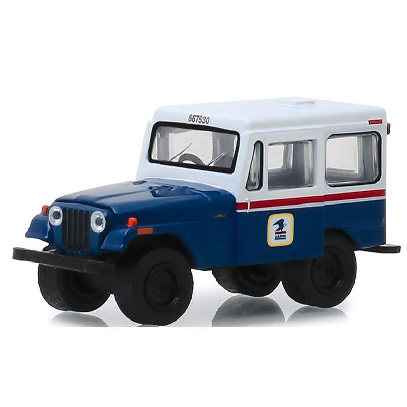 Miniatura 1971 Jeep DJ5 USPS - Greenlight - escala 1/64 - 10435