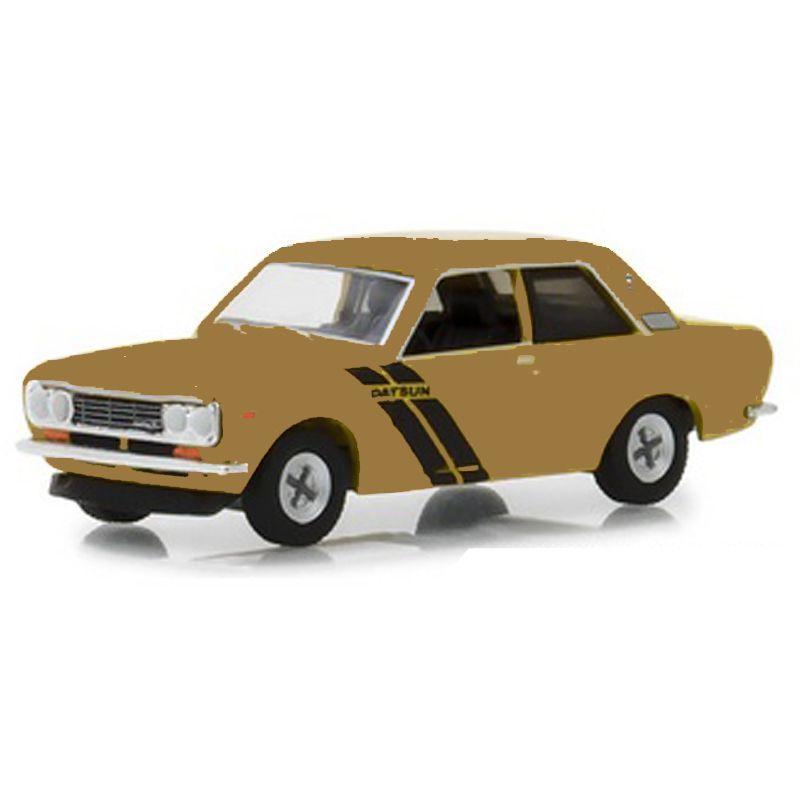 Miniatura 1972 Datsun 510 - Greenlight - escala 1/64 - 10473