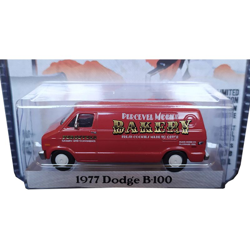 Miniatura 1977 Dodge B-100 - Greenlight - escala 1/64 - 10455