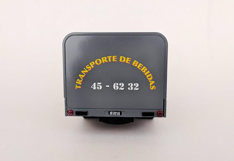 Miniatura Caminhão Mercedes L312 torpedo bebida -deagostini-1/43- 10551