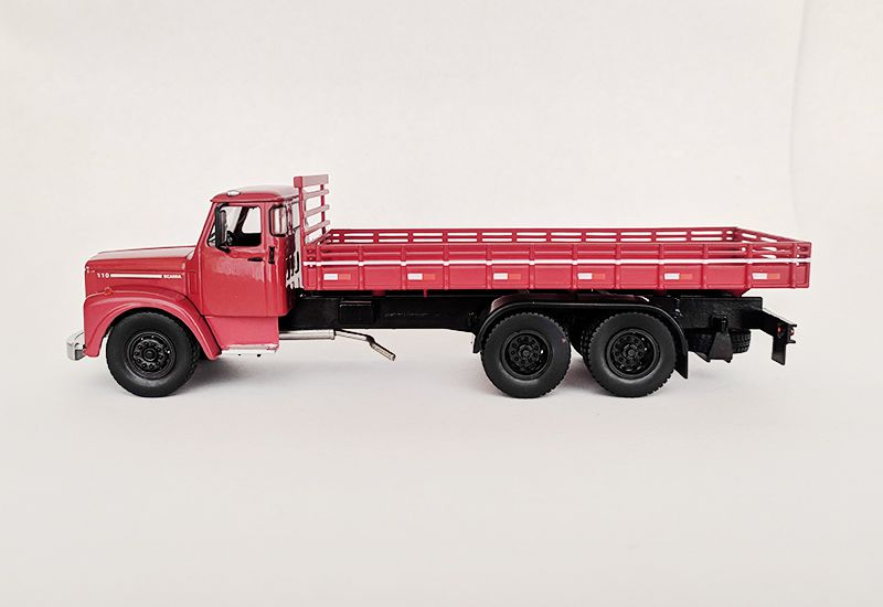 Miniatura Caminhão Scania L110 Jacaré - Deagostini - escala 1/43 - 10561