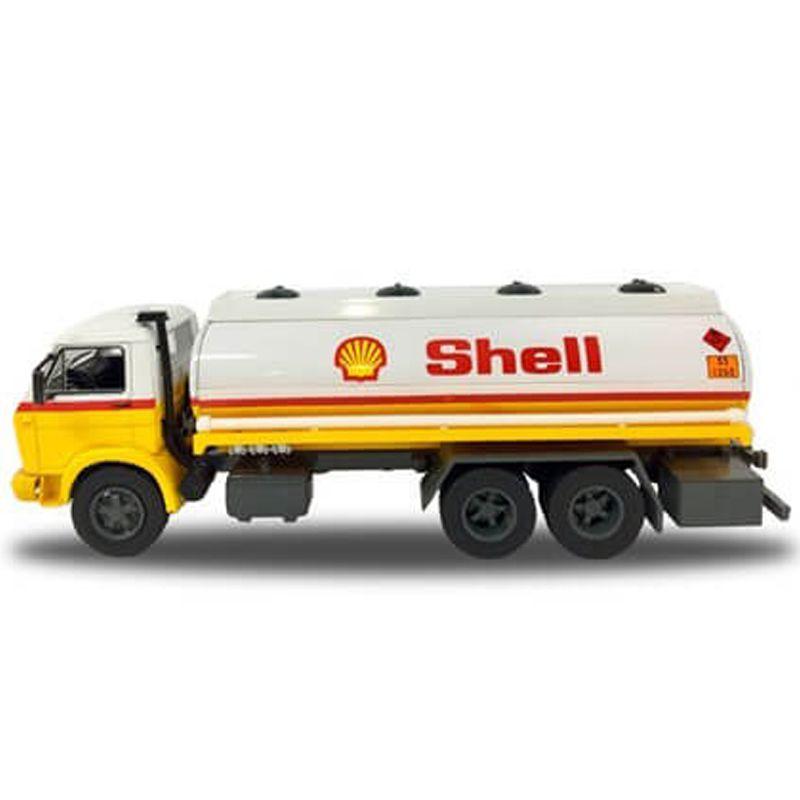 Miniatura Caminhão VW 13 130 tanque Shell - Deagostini - escala 1/43- 10682