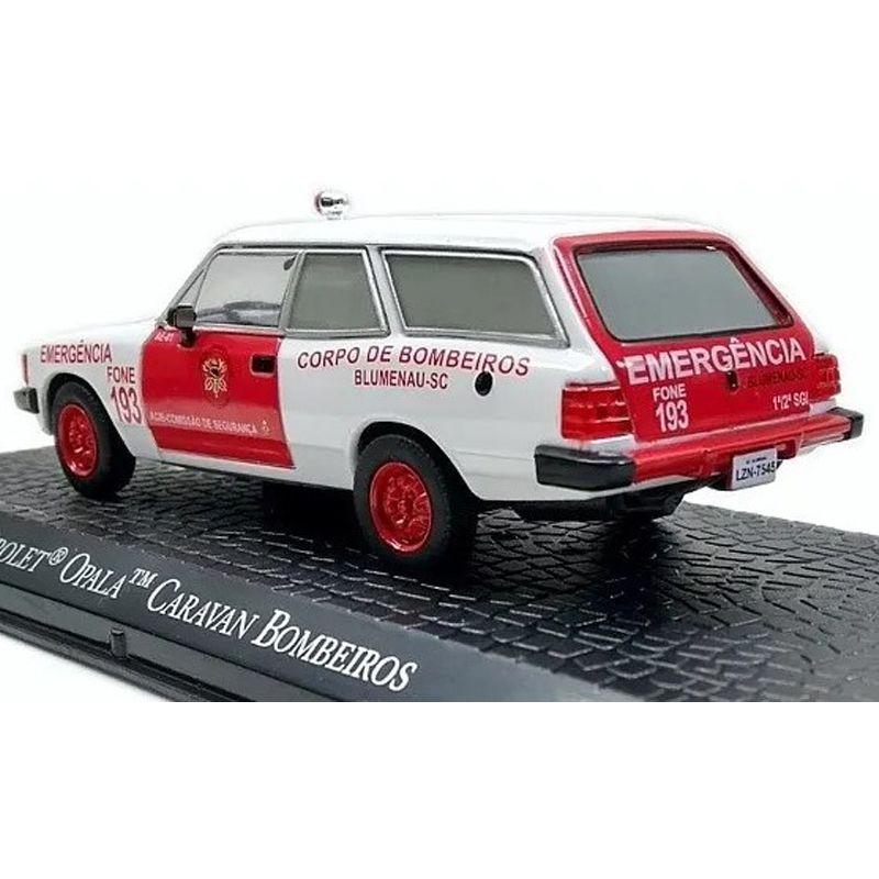 Miniatura Caravan Bombeiros - viaturas de Serviço - escala 1/43 - 10357