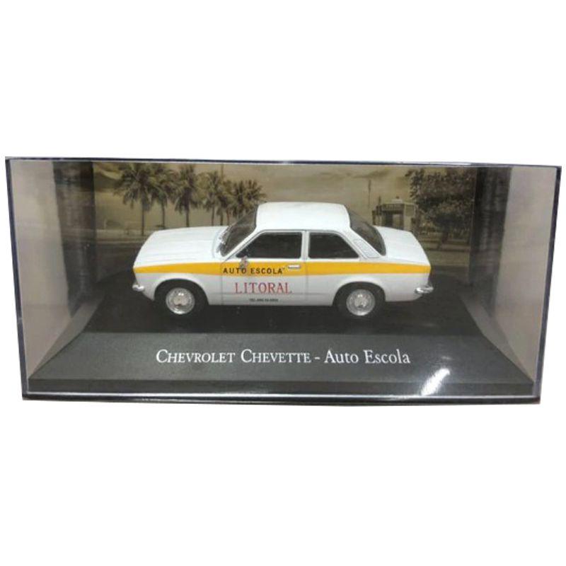 Miniatura Chevette Auto Escola - veículo de Serviço - escala 1/43 - 10083
